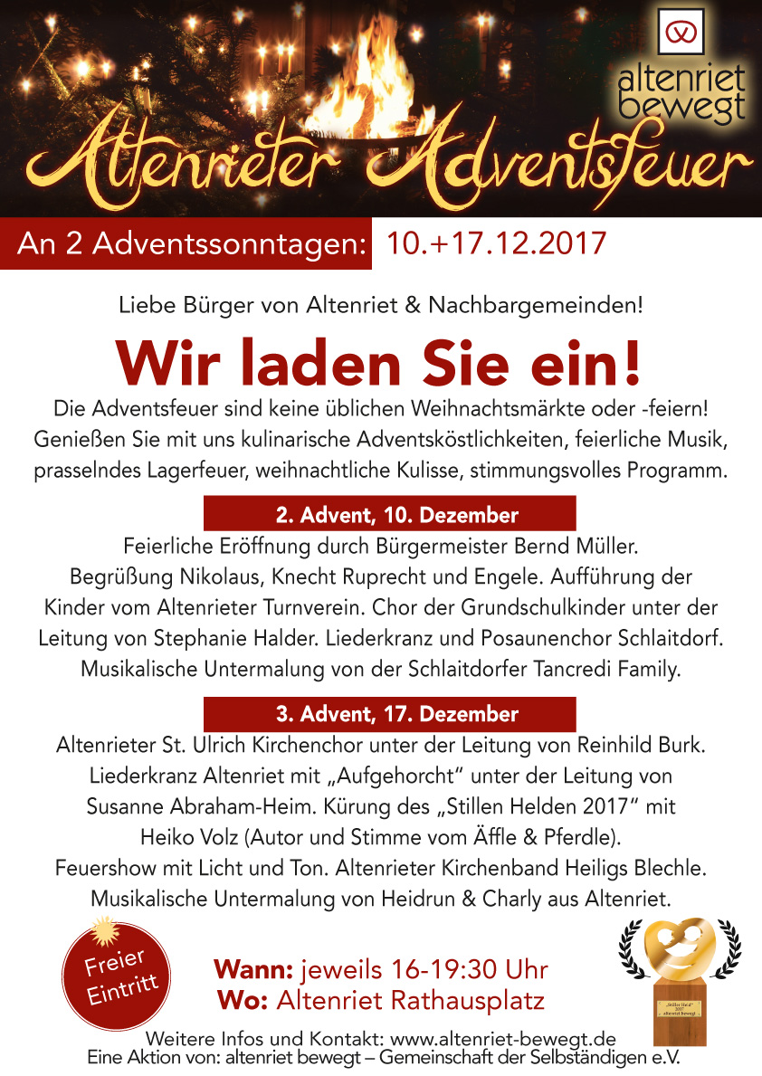 Adventsfeuer 2017